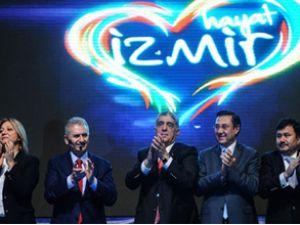 Binali Yıldırım'dan İzmir'e dev projeler