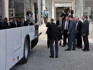 Malatya'da doğalgazlı otobüsler test edildi
