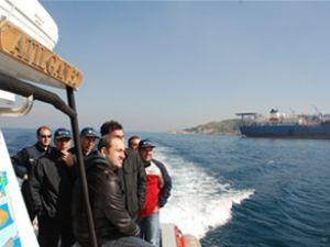 İMEAK DTO İzmir Şubesi tesisleri inceledi