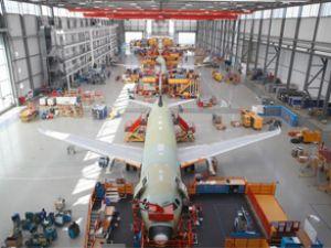 Airbus üretim bandını genişletiyor