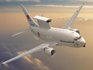 Havadan İhbar ve Kontrol uçağı tanıtıldı