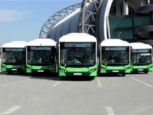 Kayseri'de 16 TCV CNG otobüs yola çıkıyor