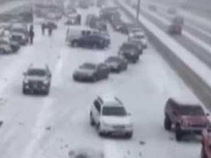 ABD'de zincirleme trafik kazası
