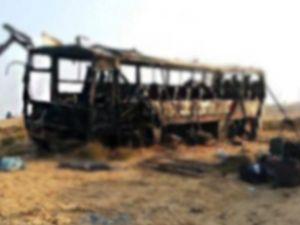 Çin'de otobüs faciası: 10 ölü