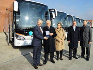 Ulusoy'un filosuna 7 adet Setra otobüs