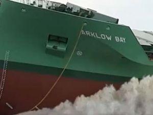 Ferus Smit, Arklow Bay'ı denize indirdi