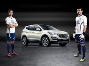 Hyundai'nin marka elçileri Casillas ve Kaka