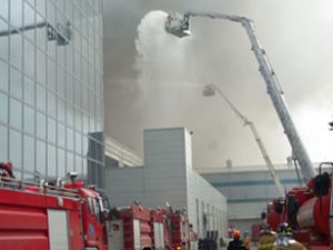 Samsung'un Güney Kore'deki fabrikası yandı
