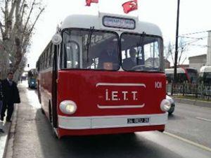 İETT'nin sembolü 'Tosun' yine yollarda