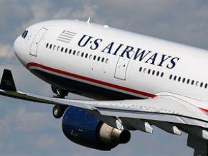 US Airways'e ait yolcu uçağı acil iniş yaptı