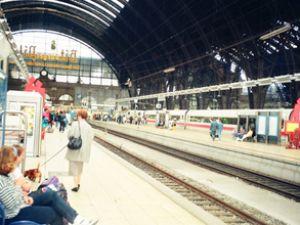 Almanya'da tren garları modernleşiyor