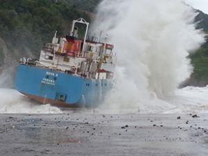 M/V Nova D gemisinin enkazı çıkarıldı