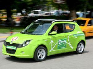 Türkiye'nin ilk elektrikli otomobili 'Etox-4'