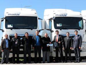 MAN'dan Ejderhan Nakliyat'a 5 kamyon