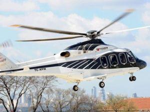 Erdoğan, Sakarya'ya özel helikopterle gitti