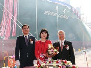 Evergreen, 18. L-tipi gemisini teslim aldı