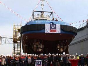 Uzmar, Koc Musaned-2'yi denize indirdi