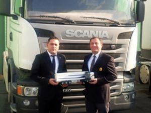 Konya Ağır Vasıta'dan Scania teslimatı