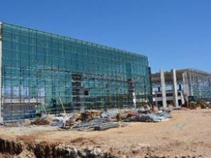 Yeni otogarın inşaat çalışmaları hızla sürüyor