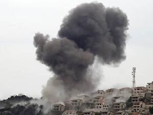Suriye uçakları Keseb'i vurmaya başladı