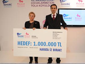 Kamil Koç'tan muhtaç çocuklara destek