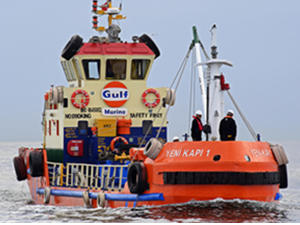 Gulf Marine İskenderun'da ikmale başladı