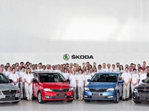 Skoda, 11 milyonuncu aracını indirdi