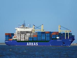 Arkas'ın konteyner gemi filosu büyüyor