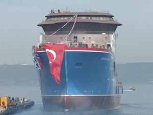 African Inspiration gemisi Cemre'de denize indirildi