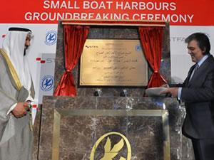 Gül, Kuveyt'te liman temel atma törenine katıldı