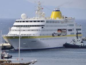 Kruvaziyer turizminde yolcu sayısı azaldı