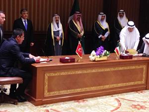 """Kuveyt ile """"Ticari Deniz Taşımacılığı Anlaşması"""" imzalandı"""