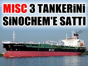 MISC, 3 kimyasal tankeri 60,9 milyon dolara sattı