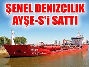 AYŞE-S 13,5 milyon dolara Nordic Tankers'e satıldı