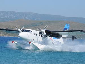 BURULAŞ'tan denizde 'VIP' uçuş dönemi