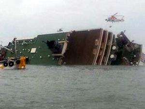 Güney Kore'de 470 kişilik feribot battı