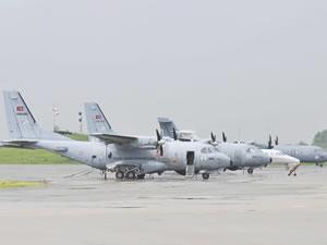 Deniz Karakol Uçakları teslim alındı
