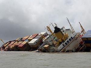 Çin'de iki yük gemisi çatıştı: 11 mürettebat kayıp