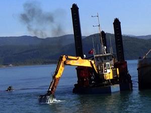 Muğla Akyaka Limanı, tehlikeden kurtuluyor