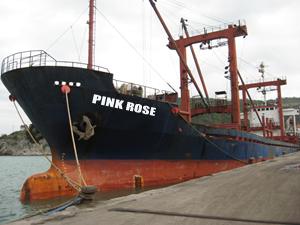 Türk armatörüne ait M/V PINK ROSE Volos Limanı'nda tutuklandı