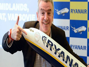 Ryanair, Rusya, İsrail ve Türkiye'ye uçacak
