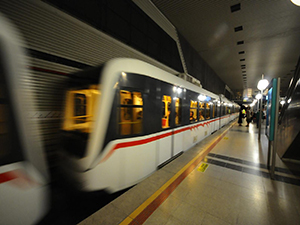 Seyrantepe'de 4 ay boyunca metro kullanılamayacak