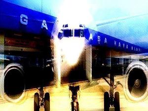 Gazipaşa Havalimanı terminal binasında sona doğru
