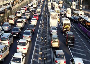 3 ayda araç sayısı 208 bin adet arttı