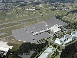 Zagreb Havalimanı'nda yeni terminal inşasına başlandı
