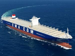 CMA CGM Çin'e 3 adet konteyner gemi siparişi verdi