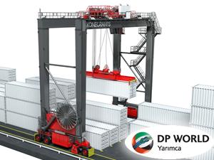 Konecranes, DP World Yarımca Limanı'na RGT sistemi kuracak
