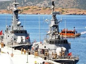 Türk Deniz Kuvvetleri 'Hücum Botları' Bodrum'da demirledi