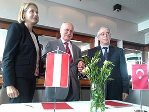 UND'nin Avusturya makamları ile görüşmeleri sonuç verdi