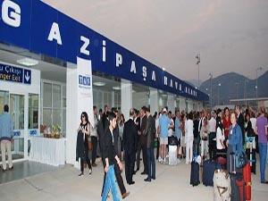 Gazipaşa Havaalanı'na acele kamulaştırma kararı